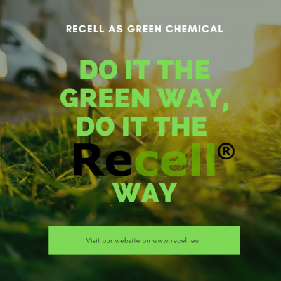 Do it the green way do it the Recell(R) way
